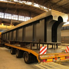 Plieno konstrukcijos | Ekspostatyba